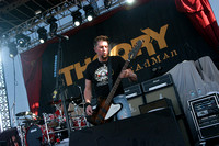 Theory of a Deadman at Lazerfest 2012 .  Sunday, May 13, 2012.