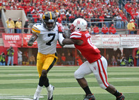 Iowa vs. Nebraska Football 2011